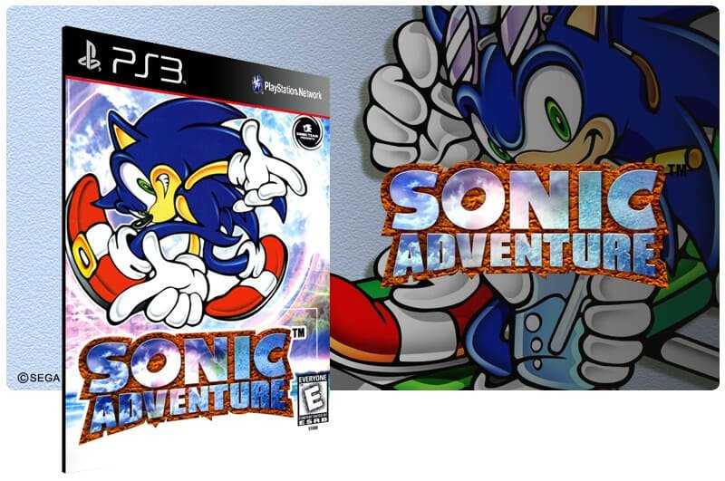 Banner do game Sonic Adventure para PS3