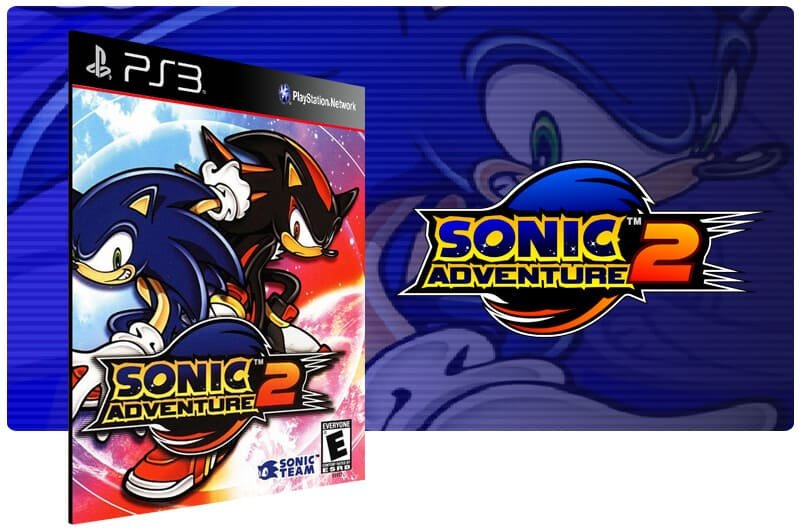 Banner do game Sonic Adventure 2 para PS3