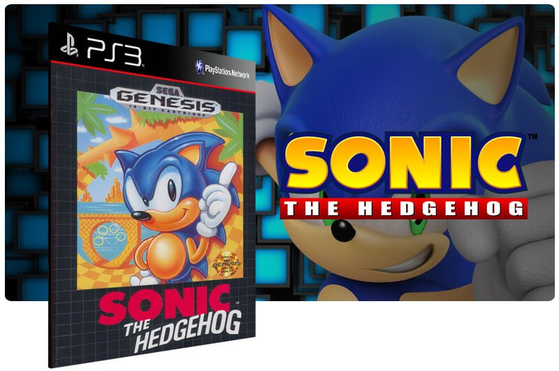 Banner do game Sonic The Hedgehog para PS3