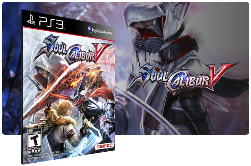 Banner do game Soulcalibur V para PS3