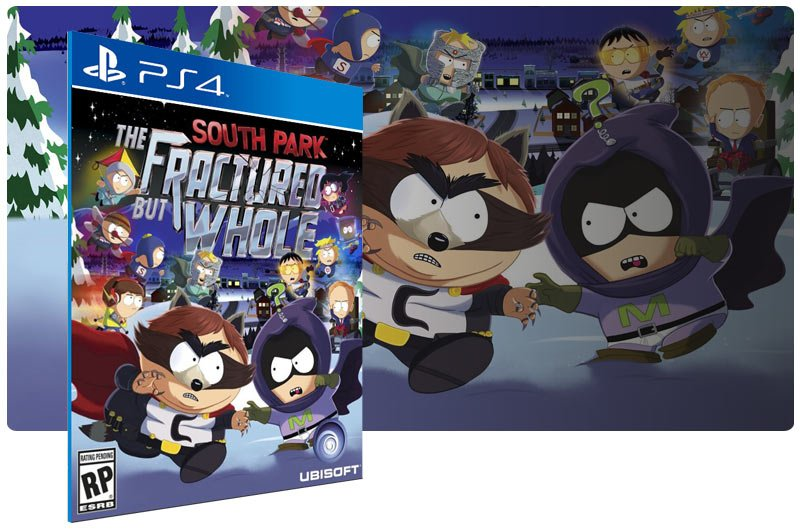 Banner do game South Park The Fractured but Whole para PS4