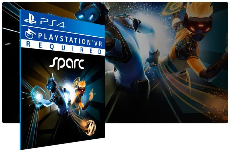 Banner do game Sparc para PS4