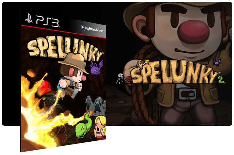 Banner do game Spelunky para PS3