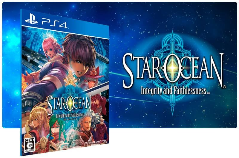 Banner do game Star Ocean: Integrity And Faithlessness para PS4
