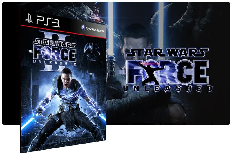 Banner do game Star Wars The Force Unleashed 2 para PS3