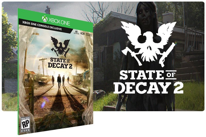Banner do game State of Decay 2 em mídia digital para Xbox One