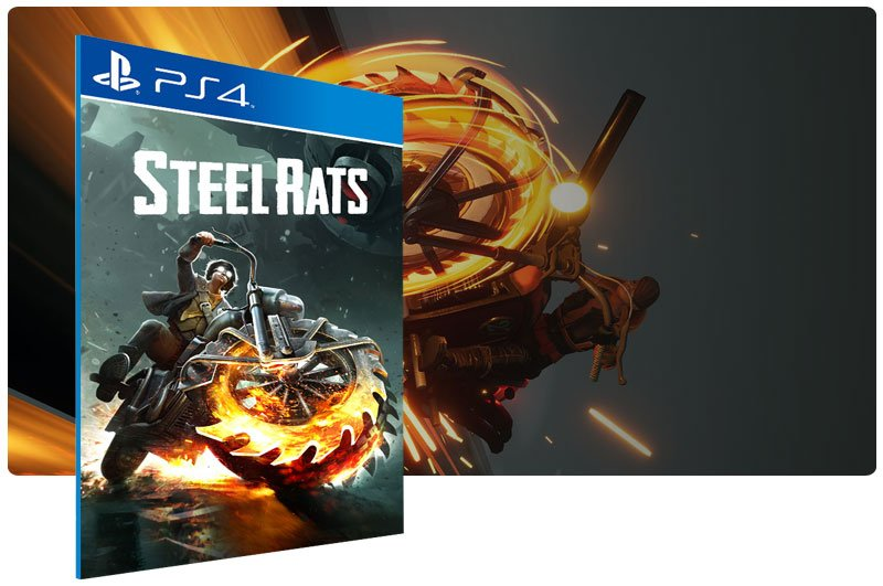 Banner do game Steel Rats para PS4