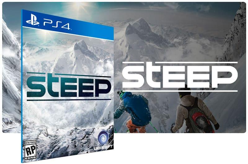 Banner do game Steep para PS4