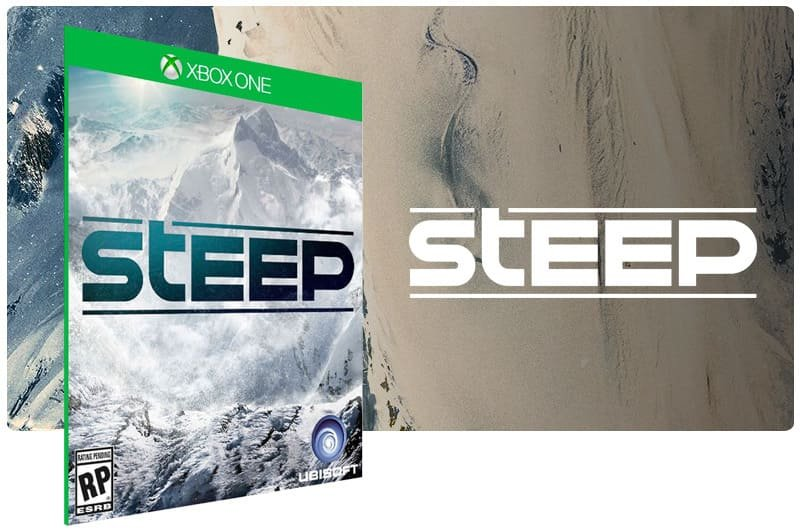Banner do game Steep em mídia digital para Xbox One