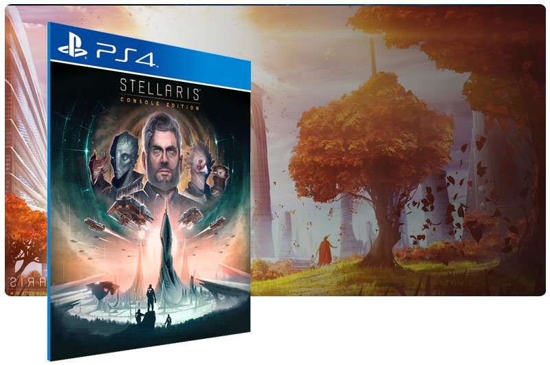 Banner do game Stellaris: Console Edition para PS4