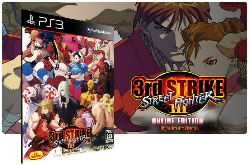 Banner do game Street Fighter 3: 3rd Strike: Online Edition Complete Pack para PS3