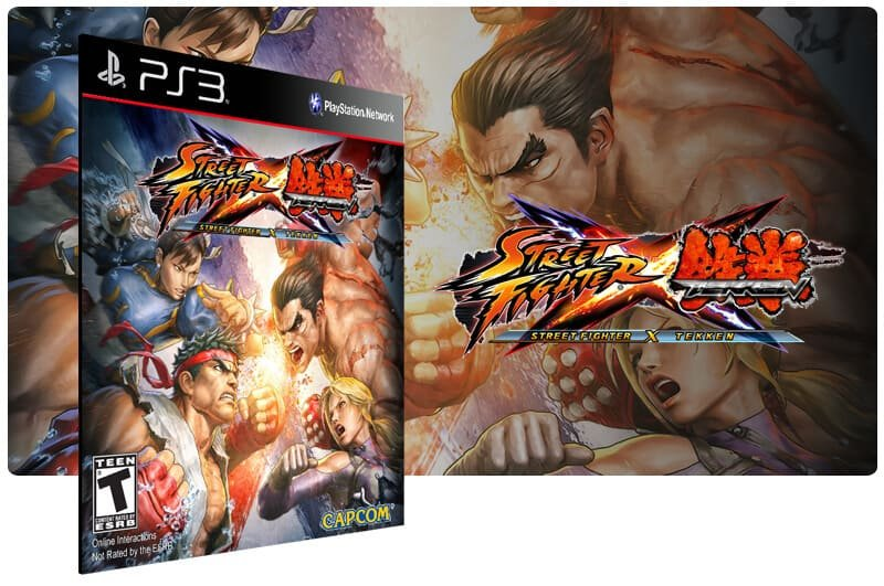 Banner do game Street Fighter Vs Tekken para PS3