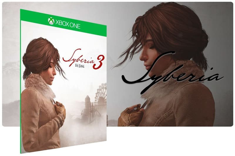 Banner do game Syberia 3 em mídia digital para Xbox One