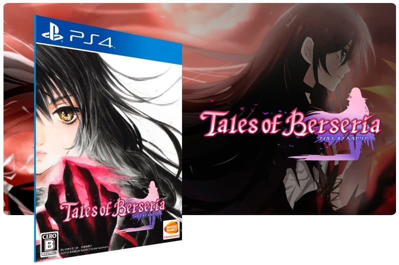 Banner do game Tales of Berseria para PS4
