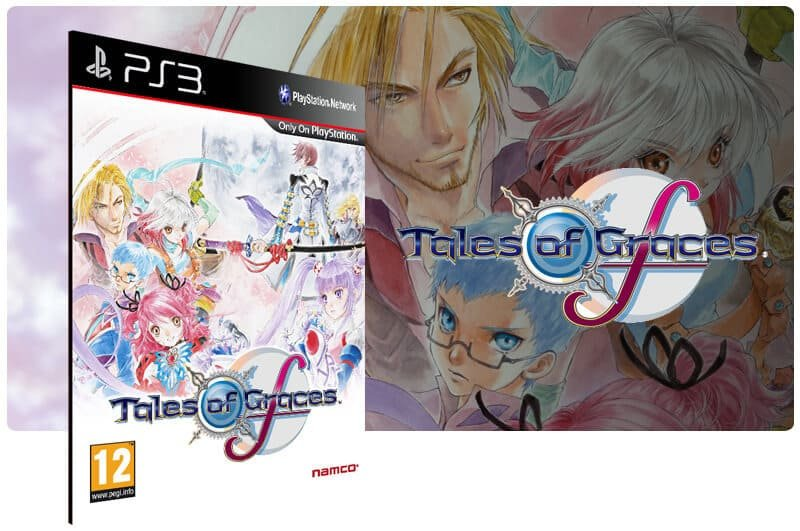 Banner do game Tales of Graces F Knight Edition para PS3
