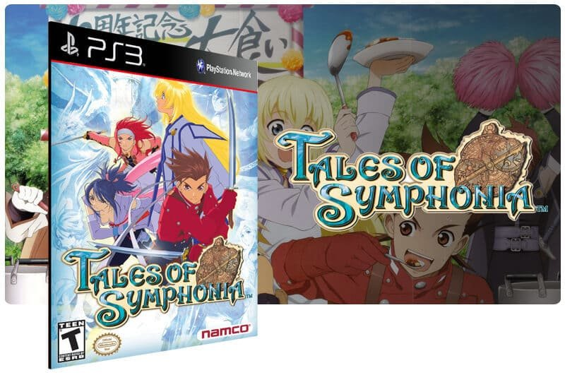 Banner do game Tales of Symphonia para PS3