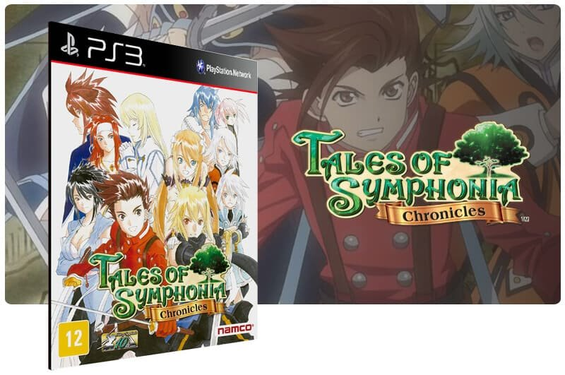 Banner do game Tales of Symphonia Chronicles para PS3