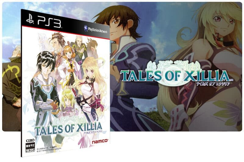 Banner do game Tales of Xillia para PS3