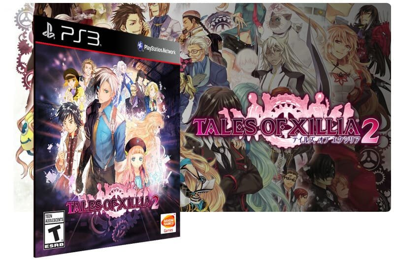 Banner do game Tales of Xillia 2 para PS3