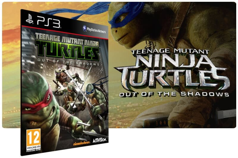 Banner do game Teenage Mutant Ninja: Out of Shadows para PS3