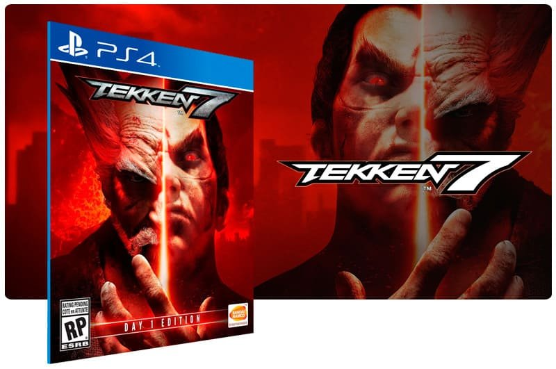 Banner do game Tekken 7 para PS4