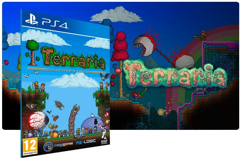 Banner do game Terraria Edition para PS4