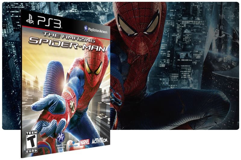 Banner do game The Amazing Spider Man para PS3