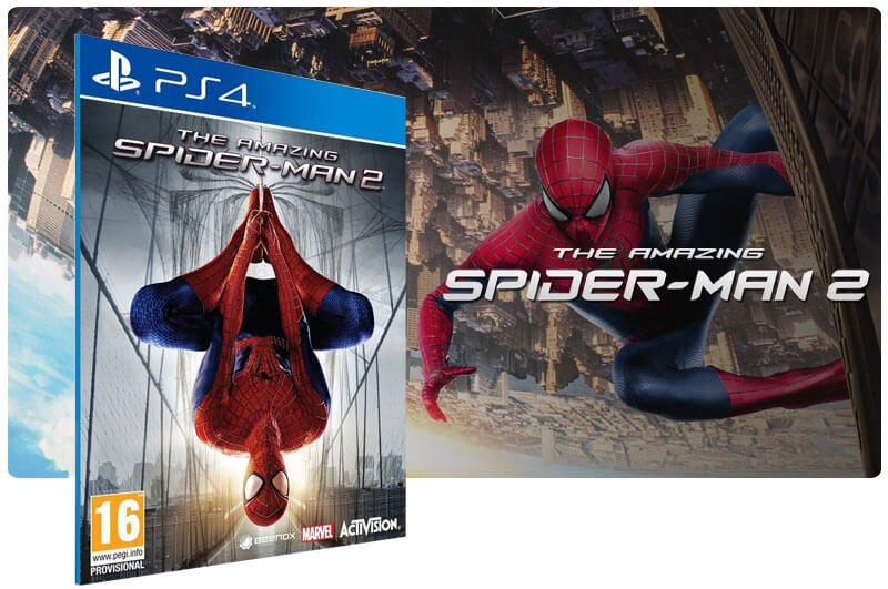 Banner do game The Amazing Spider Man 2 para PS4