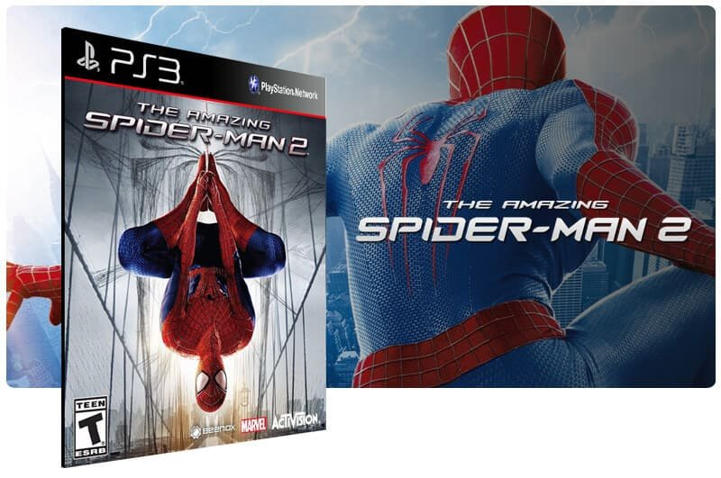 Banner do game The Amazing Spider Man 2 Gold Edition para PS3