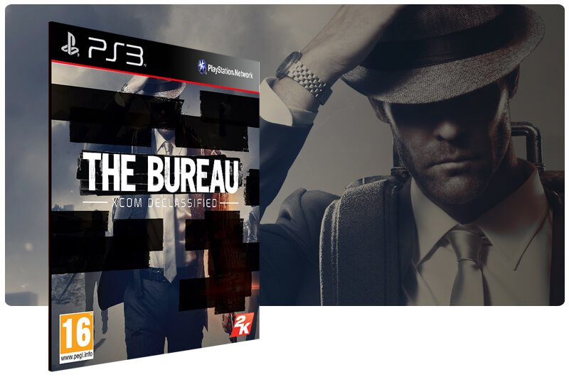 Banner do game The Bureau Xcom Declassified para PS3