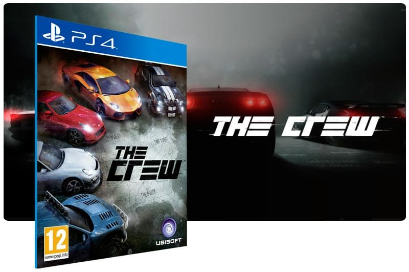 Banner do game The Crew para PS4