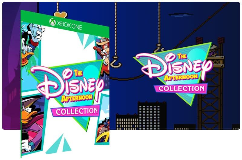 Banner do game The Disney Afternoon Collection em mídia digital para Xbox One