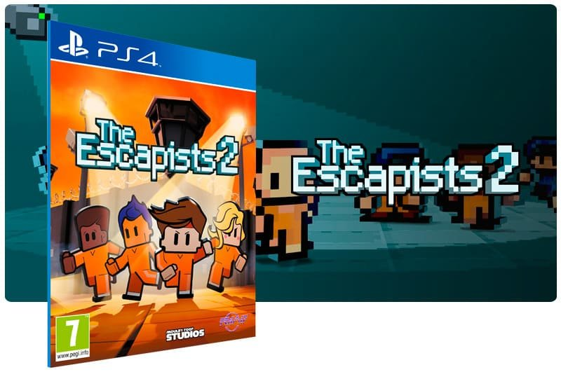 Banner do game The Escapists 2 para PS4