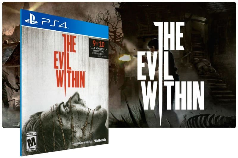 Banner do game The Evil Within para PS4