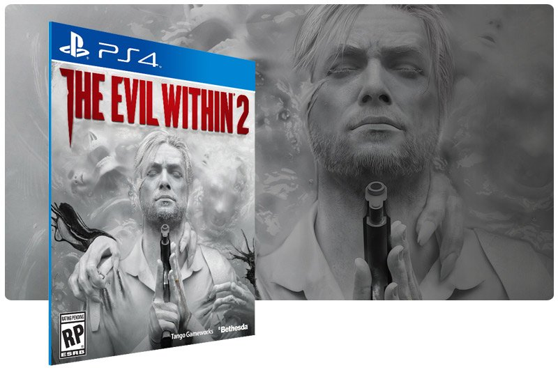 Banner do game The Evil Within 2X para PS4