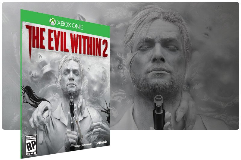 Banner do game The Evil Within 2 em mídia digital para Xbox One
