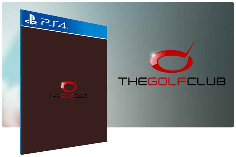 Banner do game The Golf Club para PS4