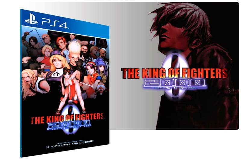 Banner do game The King Of Fighters 2000 para PS4