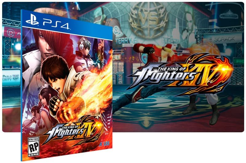 Banner do game The King Of Fighters XIV para PS4