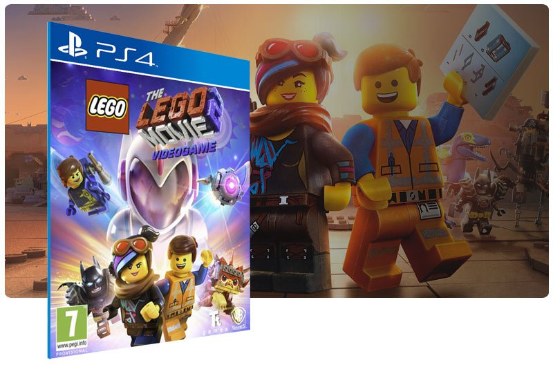 Banner do game The LEGO Movie 2 Videogame para PS4