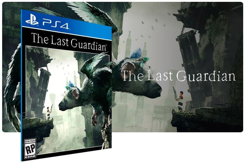 Banner do game The Last Guardian para PS4