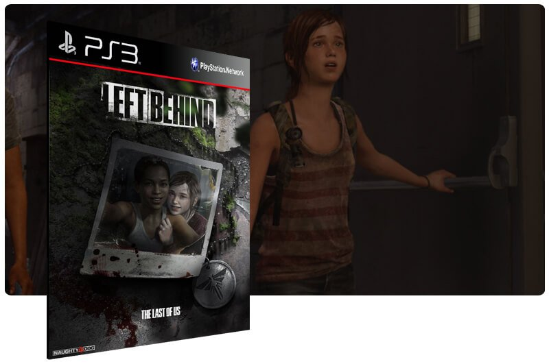 Banner do game The Last of Us: DLC Left Behind para PS3