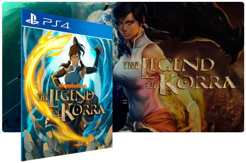 Banner do game The Legend of Korra para PS4