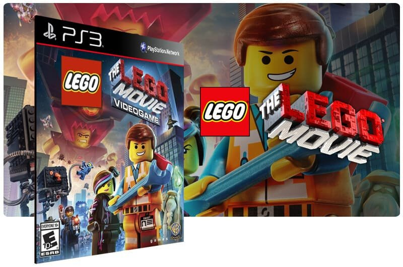 Banner do game The Lego Movie Videogame para PS3