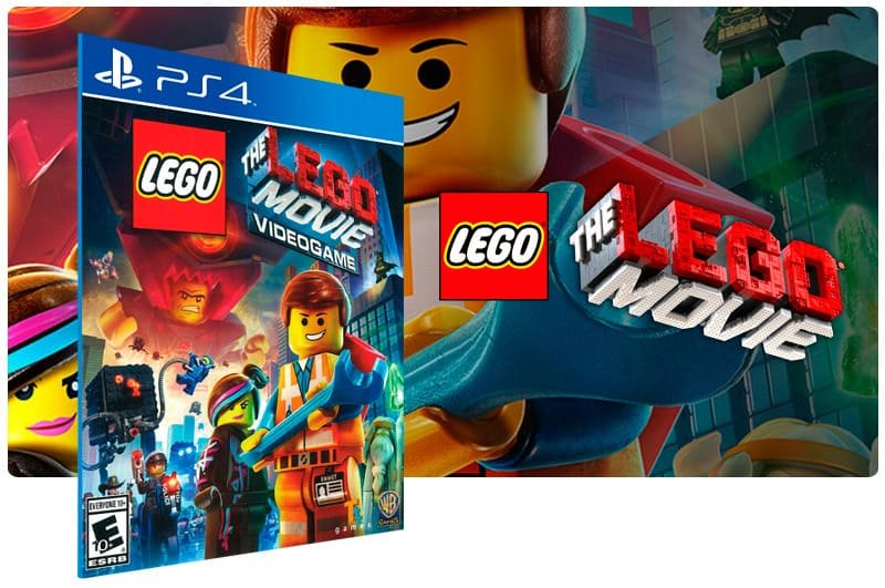 Banner do game The Lego Movie Videogame para PS4