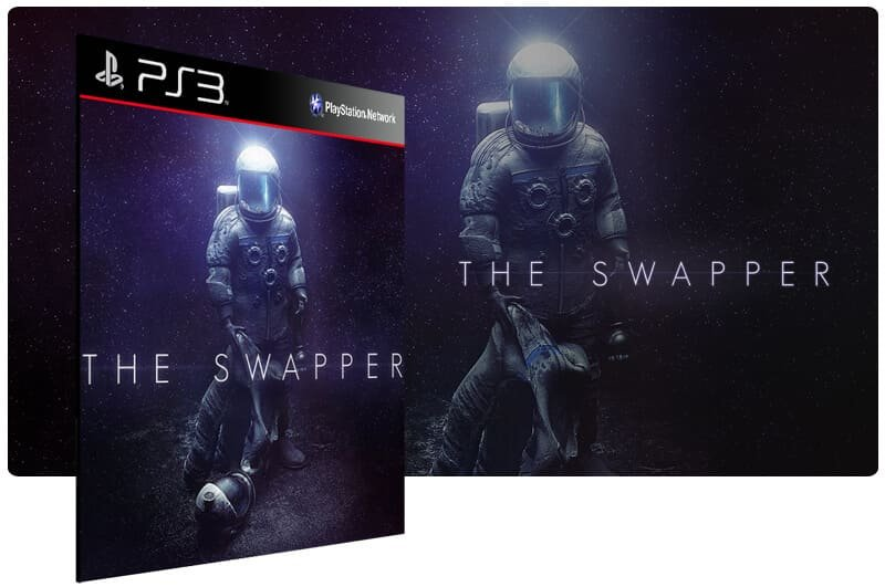 Banner do game The Swapper para PS3