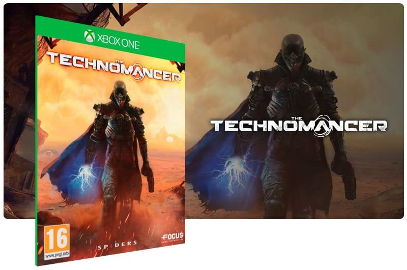 Banner do game The Technomancer em mídia digital para Xbox One