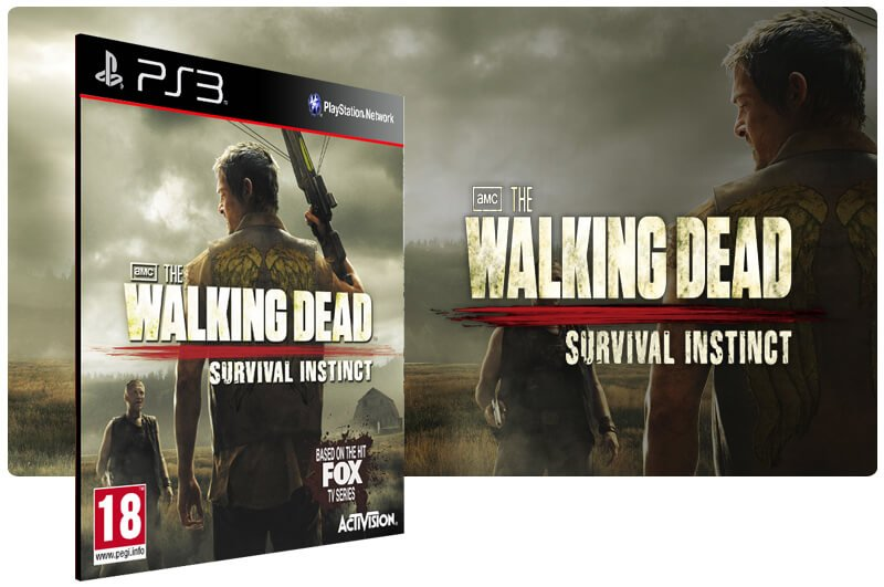 Banner do game The Walking Dead Survival Instinct para PS3