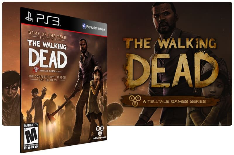 Banner do game The Walking Dead The Complete First Season para PS3