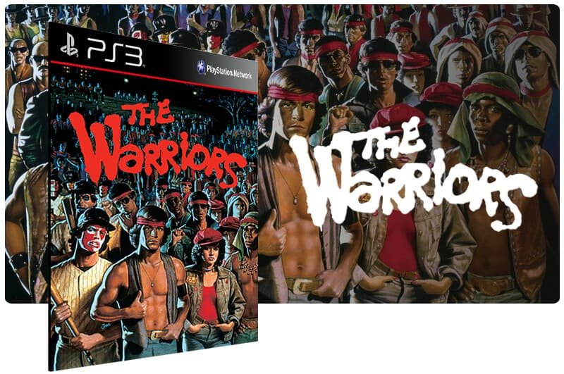 Banner do game The Warriors para PS3